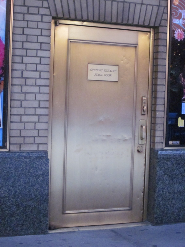 Picture & Stage Doors on Broadway - Stage elf